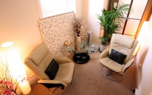 The inner Journey Clinic therapy room in Harley Street London